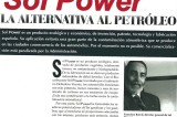 Solpower Plus. Alternativa al petróleo